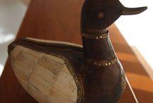 houten eenden