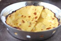 Bread Basket / All types of flat breads - rotis, naans etc