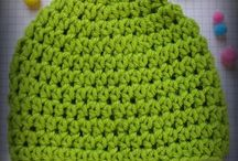 Crochet beanies and scarfs / Crochet