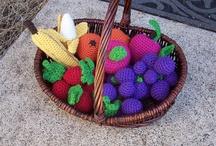 Crocheting Fruit and Veggies