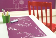 Kid play space inspiration / Fun indoor decor for any children's room or space. Add some childish colourful decor and design to any space and make kids room fun.