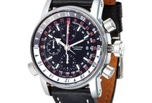 Dude's Accessories / Chronograph / Leather strap