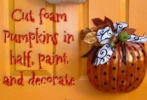 Downtown Fall Decorating