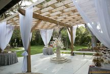Rustic Elegance -  Dream #wedding at #BakersRanch , Florida / Nature inspired , under the oaks #outdoor #rustic  #wedding ceremonies +  indoor #elegant #wedding #receptions at #bakersranch , www.bakersranch.com