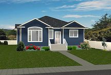 Bungalow House Plans / Bungalows are a favorite home design as everything you need is usually all on the main floor with any extra needed room in the basement level.