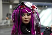 Harajuku & Cosplay  / I love the playfulness and colorfulness of Harajuku and Cosplay. It brightens (street-)life!;-)