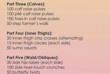 Workouts / by Katee Owen