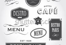 Badges, Labels, Banners & Ribbons / Inspiration for short message graphic design elements, that let their contents stand out.