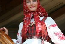 Folk Art / national costumes, art, decor / by Jana Johanka