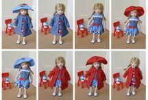 кукольная одежда и обувь