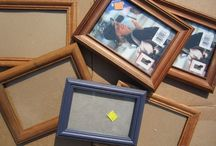 DIY Frames and Ideas / Frame making, repairing, restoring - uses for old frames - and Home & Decor ideas with old frames. Painting techniques etc.