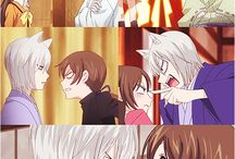 Kamisama Hajimemashita / This cute OTP of Tomoe and Nanami is just.... ❤️