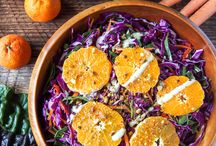 Sensational Salads / Ideal for a light lunch, on the side with dinner, portable lunch for work and picnics.  These sensational salad ideas and recipes are healthy, colorful, quick to make and utterly delicious. / by Deby Coles