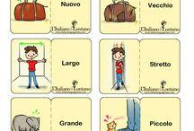 Olasz flashcard