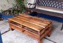 Pallets Furniture design ideas