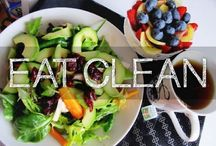 Being Healthy / Clean eating ideas, fitness techniques & maintaining good health.