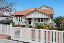 Californian Bungalows / Interior design, colour schemes, paint
