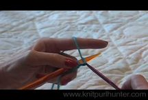 Knit Purl Hunter Video Lessons / All of the Knit Purl Hunter video lessons in one location!