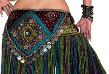 Tribal Bellydance Belts & Scarves
