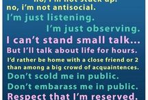 Introvert / by The Big A Word