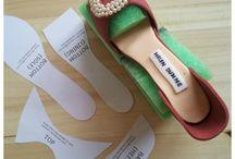 zapatos de pasta de goma