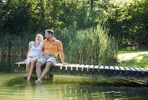Naturbaden im Mühlviertel / Das Urgesteinswasser des Mühlviertels sprudelt in Flüssen und Teichen. Und bietet sich an Naturbadeplätzen an Teichen und Flüssen zur Abkühlung an.