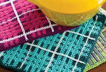 Pot holders grydelapper hæklet crochet