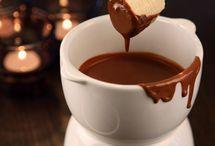 Шоколад. Фондю.