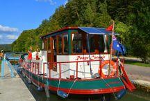 Dutch Barge / Cruising Europe in a boat!