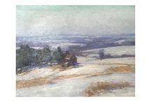 Realist Landscape Paintings