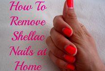 removing shellac polish