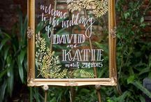 Wedding Signage / Wedding signs, DIY signs, Wood signs wedding