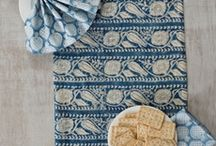 display of mats & napkins