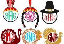 thanksgiving fonts