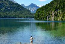 Sanftes Wandern im Allgäu - Alpsee Wellness Camping / schöne gemütliche Wanderorte, Strecken im südlichen Allgäu ... http://alpsee-camping.de