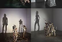 shadow sculptures