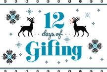 """12 Days of Gifing 2014 / As our Holiday Gift to you we present """"12 Days of Gifing!"""" Happy Holidays from the Wingard Creative Design Team!"""
