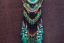 Jewelry    ( beaded pendants and necklaces  )