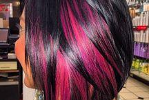hiustenvärjäykset