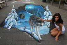 Dipinti su strada