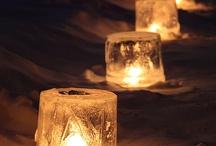 Ice lanterns / Islykter / Inspirasjon