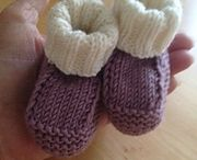 Baby socks and mittens