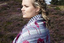 knitting fair isle, intarsia