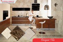 Flooring laminates and tiles