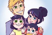 Семья:)
