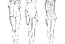 kıyafet çizimi
