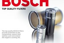 ΦΙΛΤΡΑ BOSCH / Τα φίλτρα αποτρέπουν την είσοδο και τη διείσδυση βλαβερών ουσιών στο αυτοκίνητο. Το μεγάλο εύρος φίλτρων της Bosch περιλαμβάνει το κατάλληλο φίλτρο για σχεδόν κάθε τύπο οχήματος.Βρείτε online τα σωστά φίλτρα για το αυτοκίνητό σας στο www.tetoma.gr.