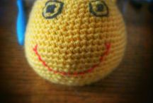 Crocheting-hand made