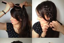 Pretty hairstyles / by Meredith Lewis
