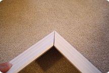 DIY: Floors/Walls/Windows / by Kip Britt